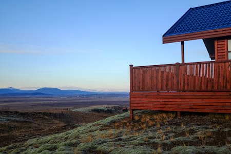 Icelandic Summerhouse. Stillness ~ Comfort.