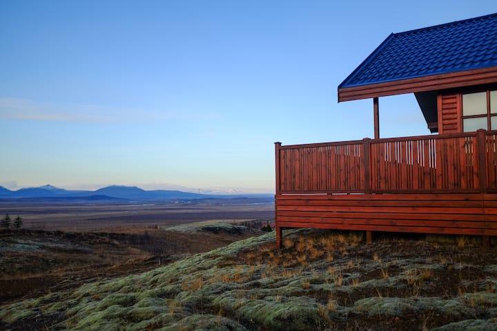 Icelandic Summerhouse. Stillness ~ Comfort.