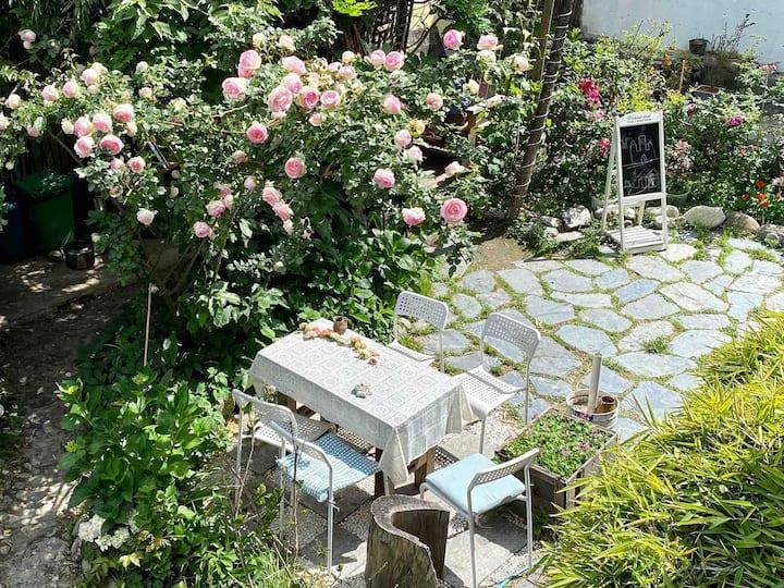 『一·樂』苍山脚下的理想房间 花园民宿/大床房/特价