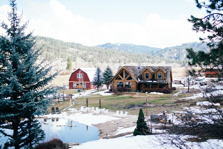 Garden Valley Ranch+Entire Ranch+sleeps up to 32 - Garden Valley - Hytte