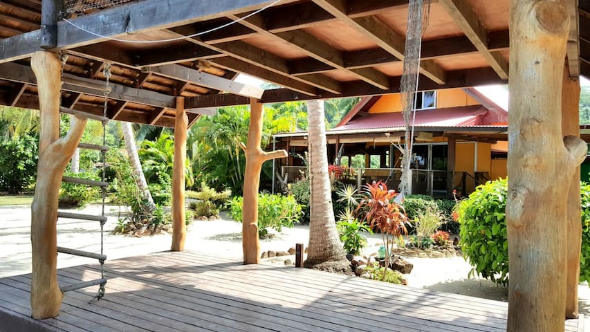 Noah's ark Villa -  Moorea Beachfront property - Moorea - House