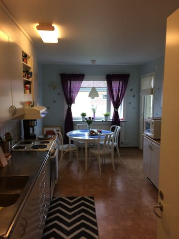 Spacious and clean place in Lund! - Lund - Departamento