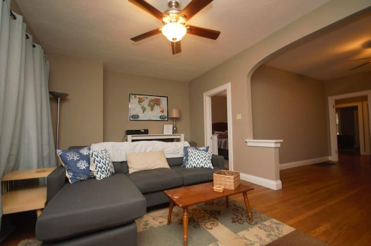 Comfortable & Spacious 2 BR Home