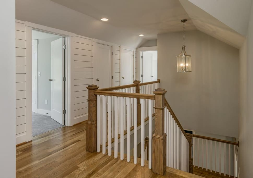 Upstairs landing- where 2 other bedrooms are.