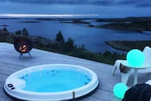 Extraordinary view of the Atlantic + outdoor SPA