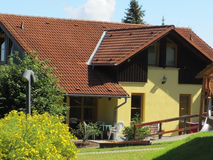 Ferienhaus-Komfort-Ensuite Dusche-Doppelhaushälfte