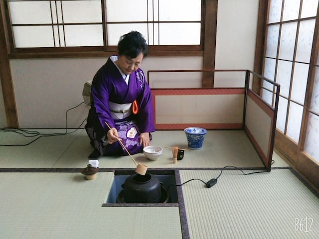 着物を着て、茶道体験できるお宿(宿泊3名様まで1棟貸し表示料金、着物レンタル・茶道体験は別料金)
