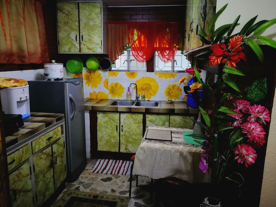 Kitchen with two sinks!