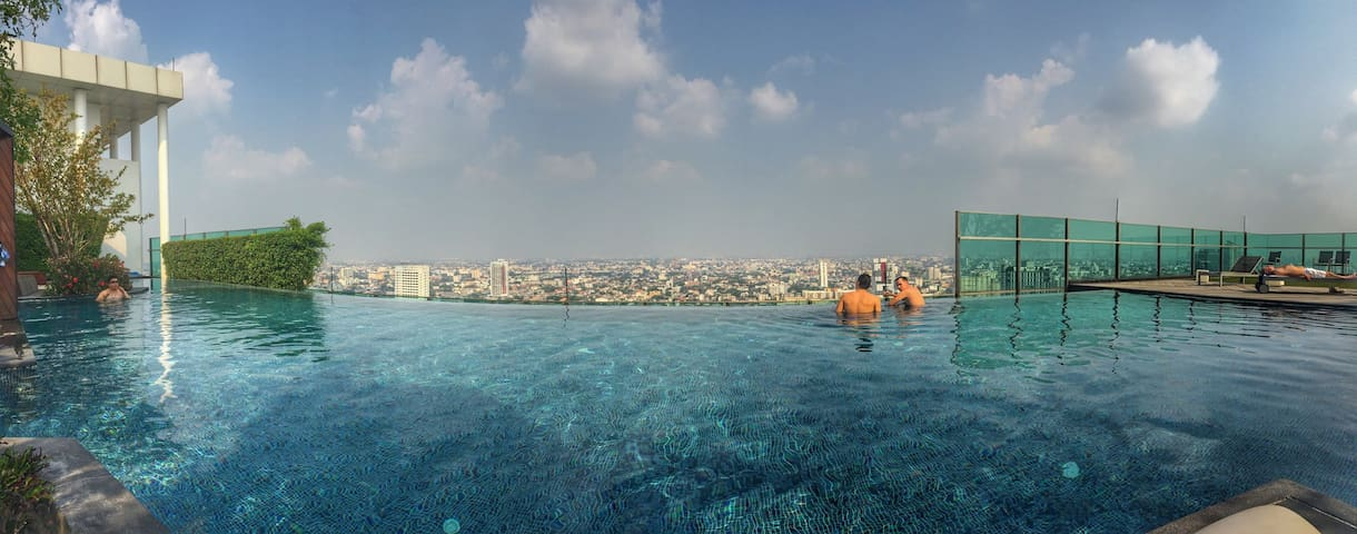City View - Rooftop Pool - 150m to MRT