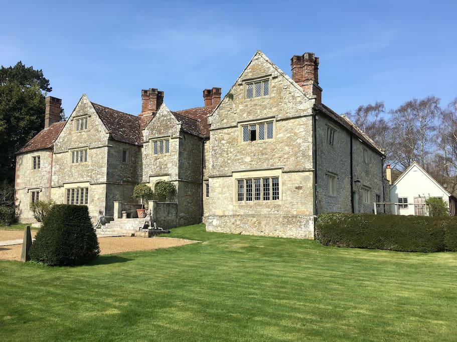 The Nook is nestled just to the Northeast corner of the Manor with its own entrance