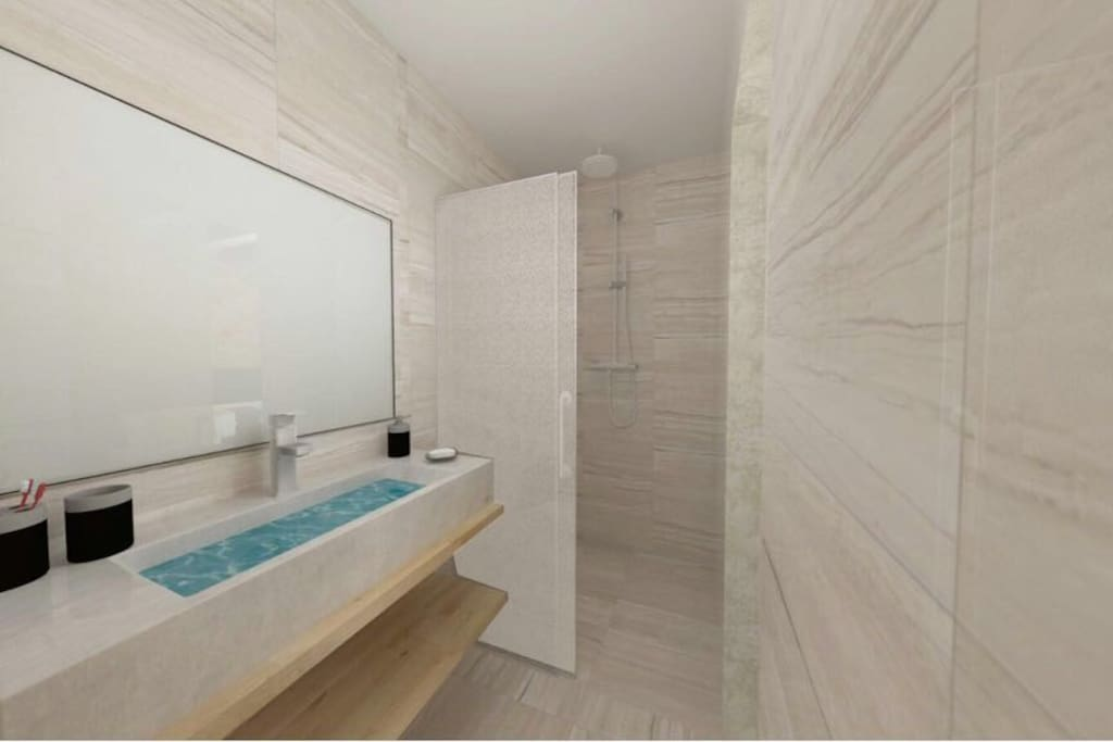 Toilet Room  Picture is made in 3D animation