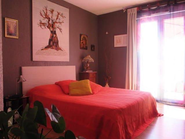 Belle chambre avec terrasse - Mouans-sartoux - Apartamento