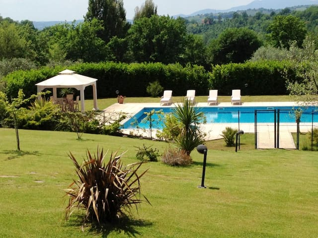 Villa with 5 bedrooms in Poggio Catino, with private pool, enclosed garden and WiFi