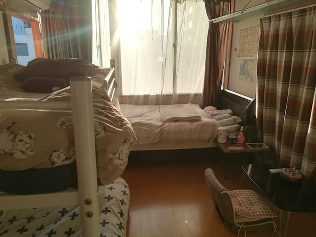 sasebo staition 4 minutes private room