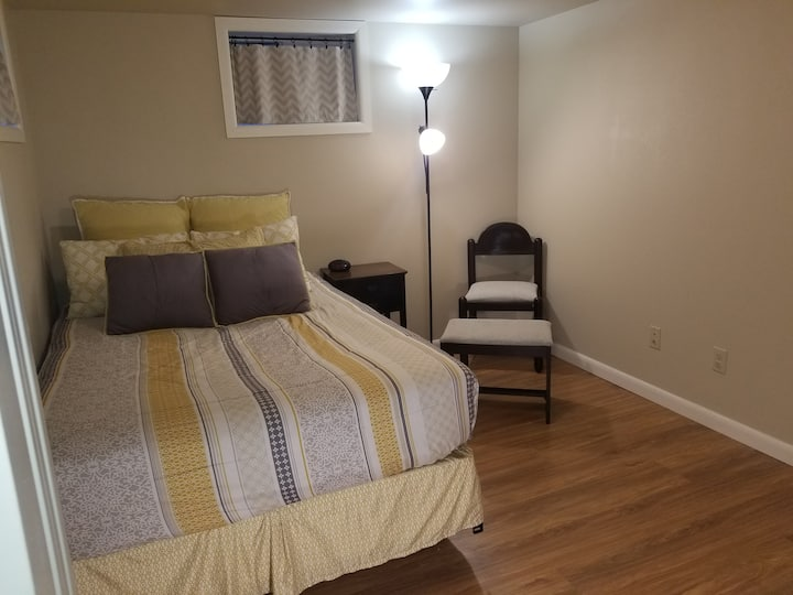 Private entrance w/ code 2 Bedroom 1 Bath Basement