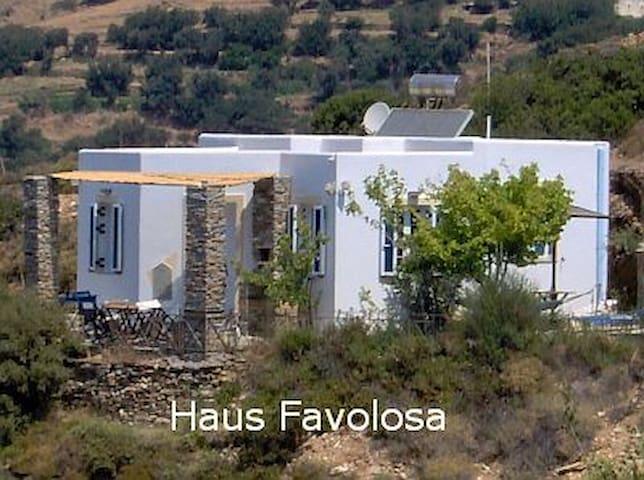 ANDROS Kykladen Inselhaus Favolosa - strandnah