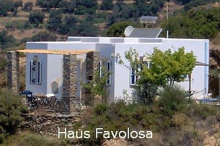 ANDROS Kykladen Inselhaus Favolosa - strandnah - Andros