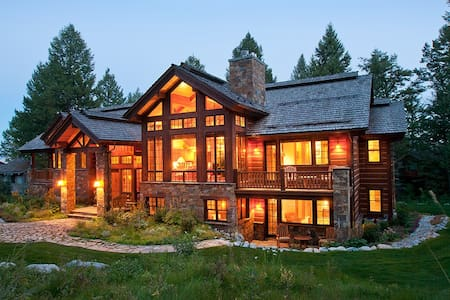 In the Village-High End Finishes-Private Hot Tub-Mountain Paradise-Perfection! - Teton Village - House
