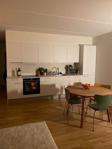 Apartment close to the train station in cosy Valby