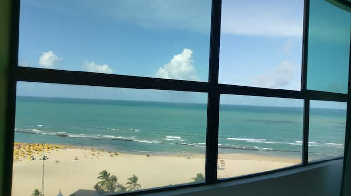 Exclusive beachfront apartment - Pina Boa Viagem