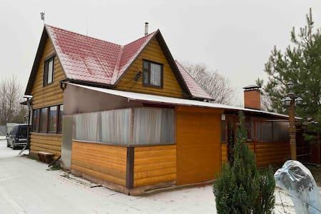 Дом деревянный посуточно