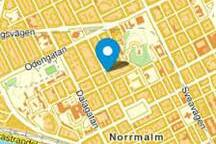 Central location - 10-15 minutes walk to the centre.     5 minutes from Odenplan Metro station