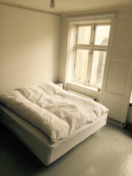 Comfortable bed. (Queen Size)