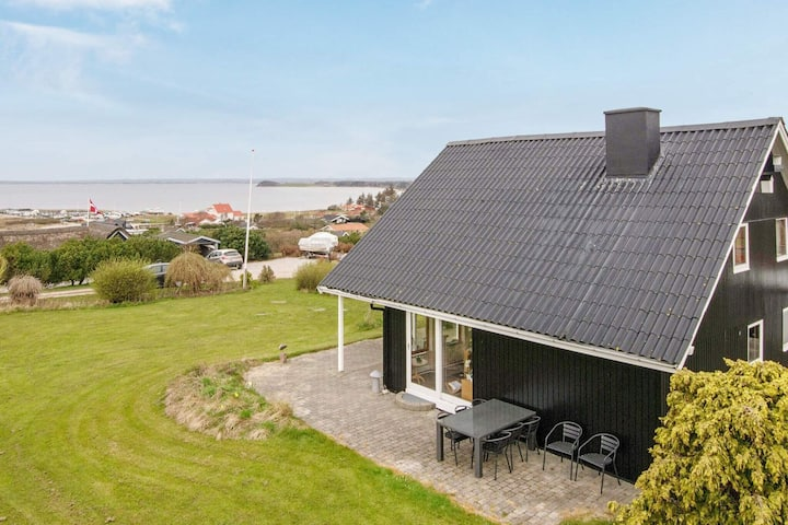 Fantastic Holiday Home near Knebel with Bay-view