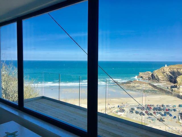 Cornish Beach Apartment - The Sandcastle