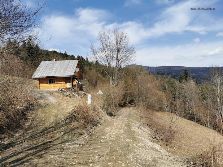 Zakątek Nadzieja, Drewniany domek