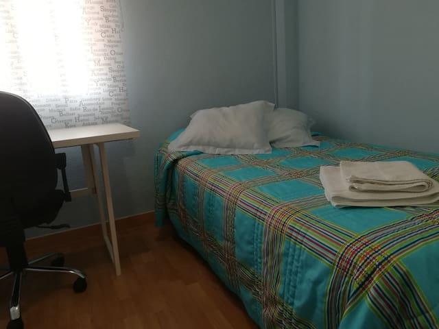 Confortable habitación en ambiente familiar
