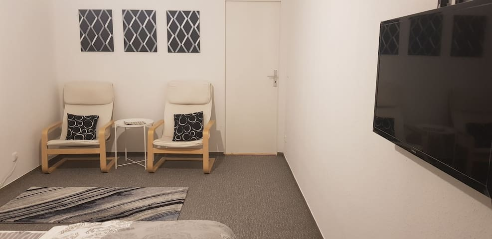 Spacious apartment located 8 km from the Messe.