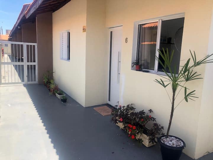 Casa com piscina condomínio fechado Itanhaém