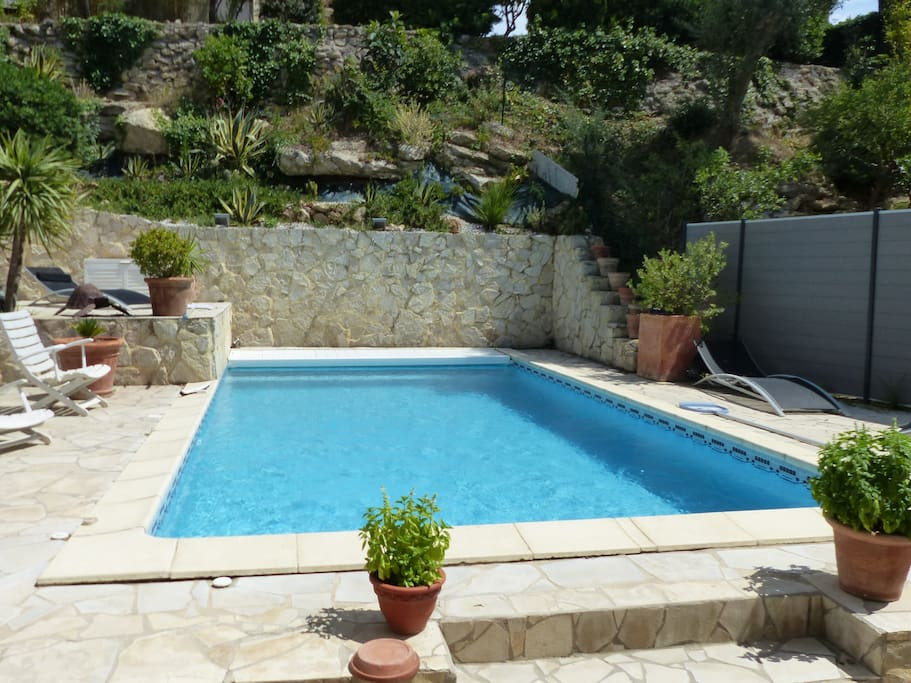 Villa avec piscine chauff e et terrasse chambres d 39 h tes - Chambre d hote avec piscine chauffee ...