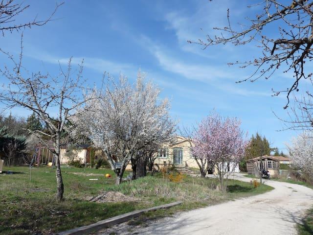 Villa familiale avec grand jardin (6 pers max)