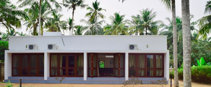 Riverside vacation villa