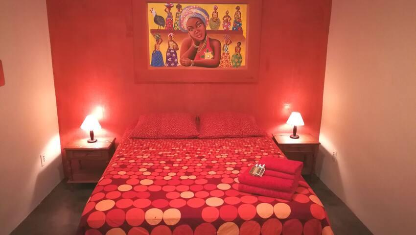 The OrangeROOM @ FavelaNovaHostel