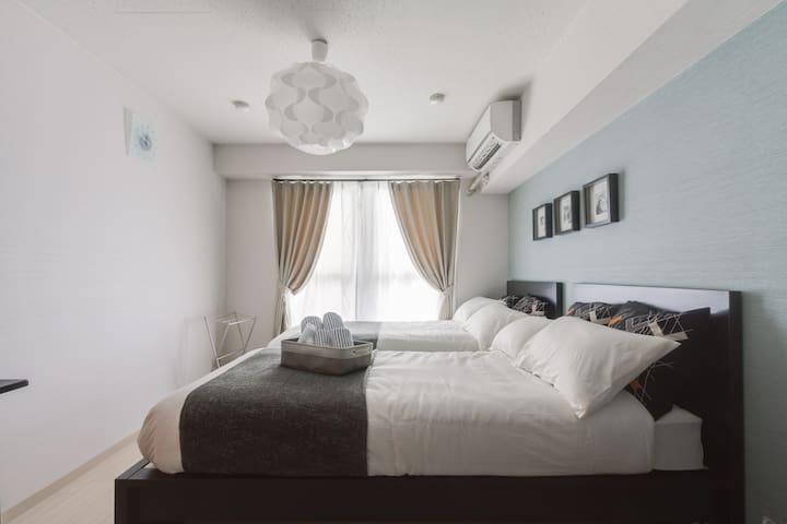 good location for USJ,KAIYUKAN,Wi-Fi 206 - Minato-ku, Ōsaka-shi - Lägenhet