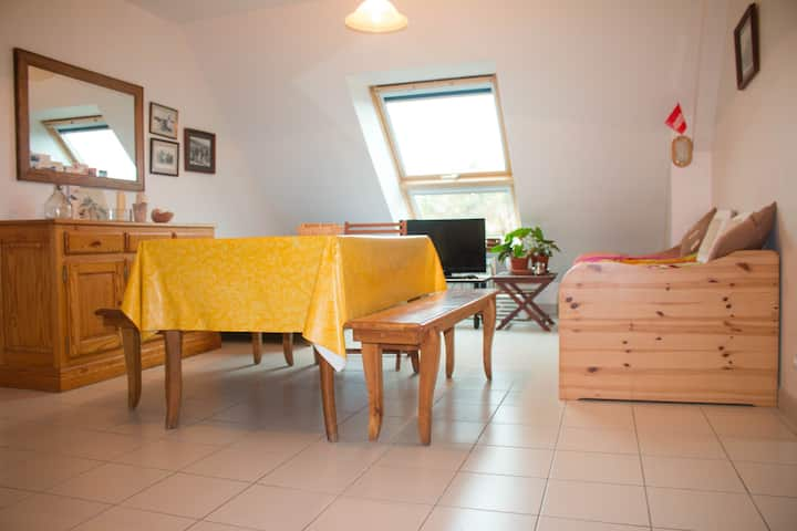 Grand appartement en baie du Mont Saint Michel
