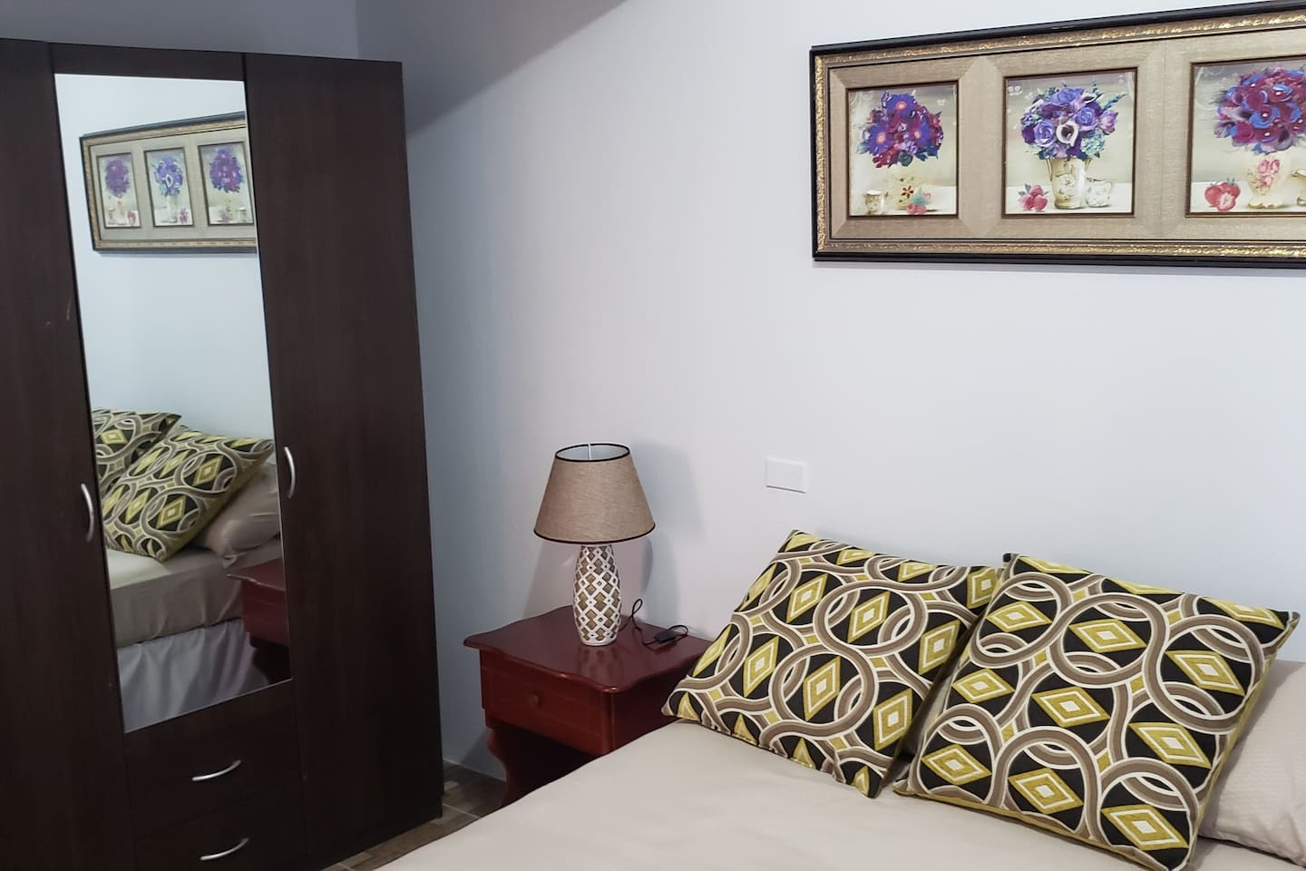 Sleep should be relaxing! A comfortable space to ensure you have a restful night.