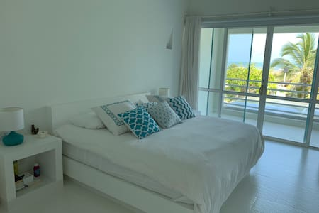 Casa boutique en Cartagena con playa privada