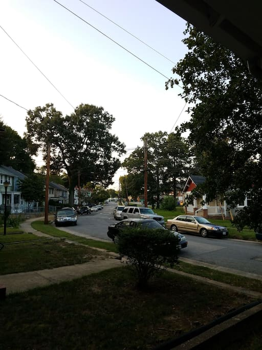 32nd Street (taken from the front porch)