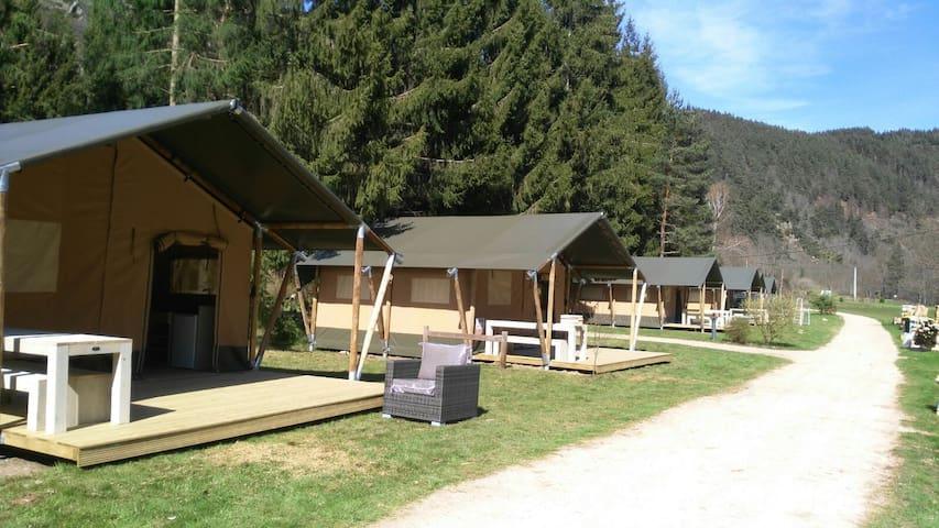 Lodgetent Vaubarlet - Sainte-Sigolène - Çadır