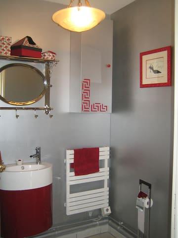 toilettes privées
