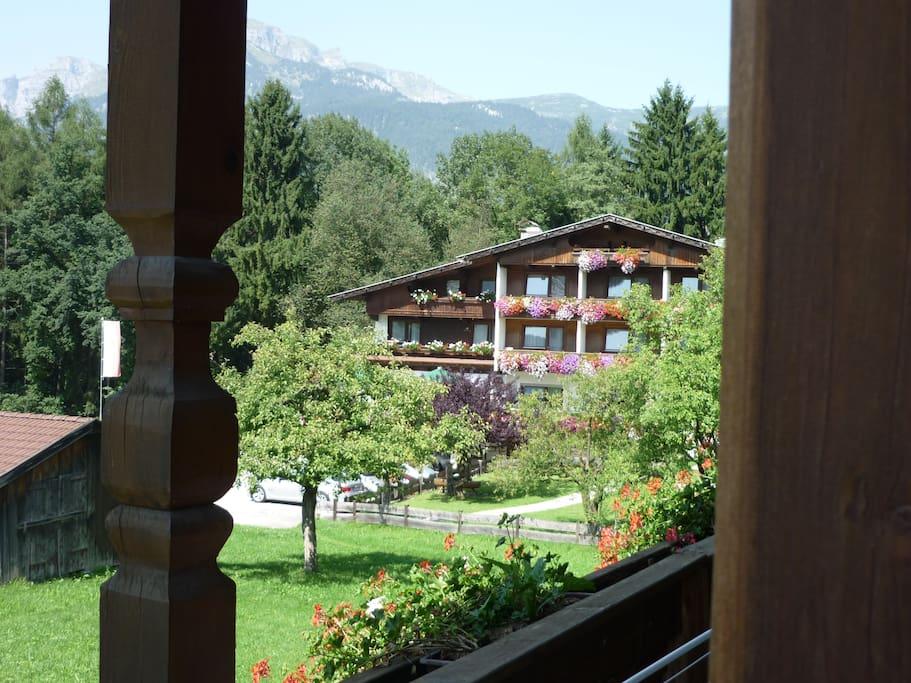 Ausblick zum Hotel Sonnwend***