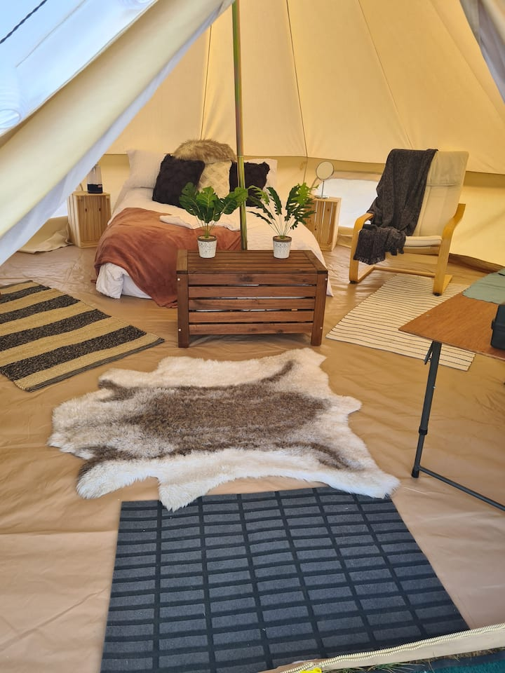 Mannum Mallee Tents is a unique experience.