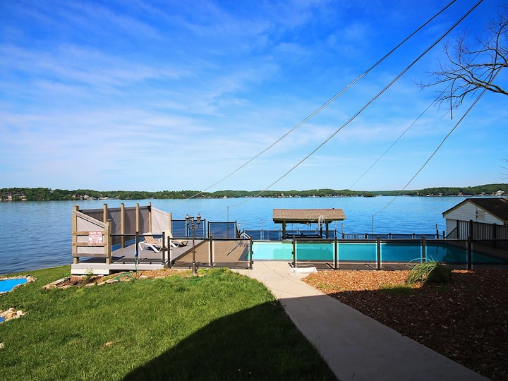 Luxury Lake House w/Views & Pool