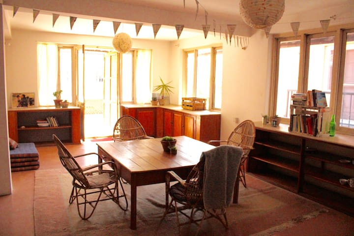 Cozy, bright and spacious apartment! - Kathmandu - Apartament