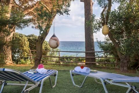 Private beach access & Jacuzzi