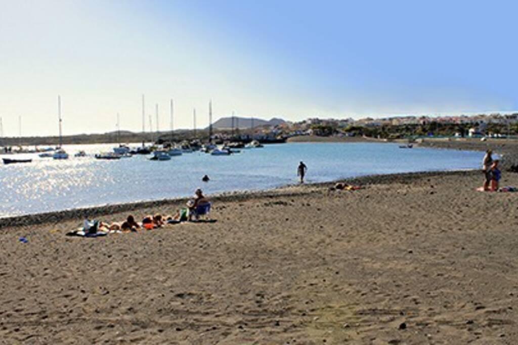 Las Galletas beach